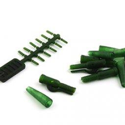 Клипса безопасная Nautilus Lead Clip Heavy Duty-Bolt-Tail Rubber Olive, уп.(x5шт.)