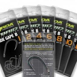 Крючок Korda Wide Gape Barbless-04 KWGB4, уп.(x10шт.)