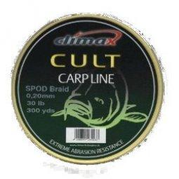 Шнур Сподовый Climax CULT SPOD BRAID 0,20mm (30lb) 274 м желтый
