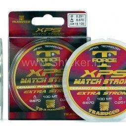 Леска TRABUCCO T-FORCE XPS MATCH EXTRA STRONG 25m 0,143 2,950кг