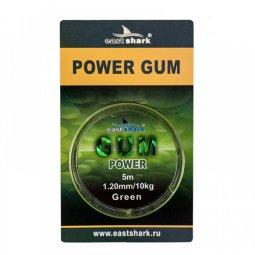 Амортизатор EastShark POWER GUM green 5 м 1,2 мм