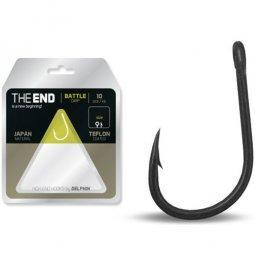 Крючки карповые DELPHIN THE END BATTLE Carp Hook №4