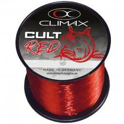Леска CLIMAX CULT Carpline RED 0.30mm 7.0kg красная 1/4 lbs (1200m)
