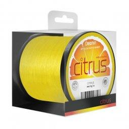 Леска карповая Delphin CITRUS 1200m  0.25mm 11,0 lb (4.9kg) Yellow