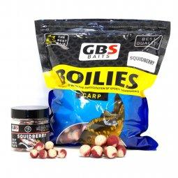 Бойлы GBS Baits 20мм 1кг Squidberry Кальмар клубника
